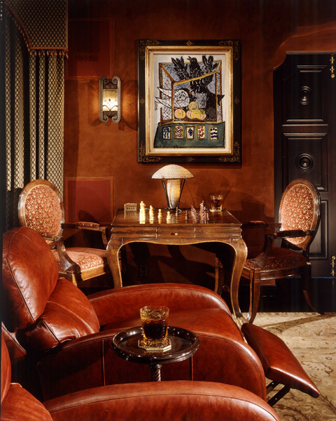 Buster Keaton Estate - Beverly Hills (Historic) traditional-family-room