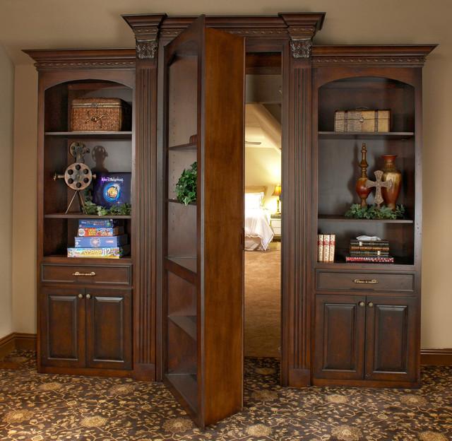 Cabinet Hidden Door - Traditional - other metro - by Euro Design/Build/Remodel