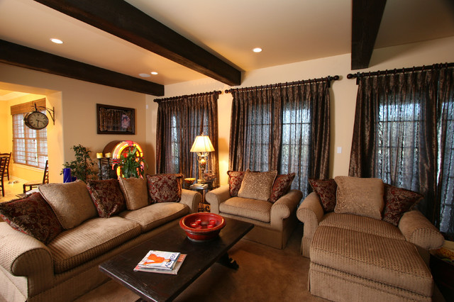 Calabasas 1 Traditional Family Room Los Angeles By