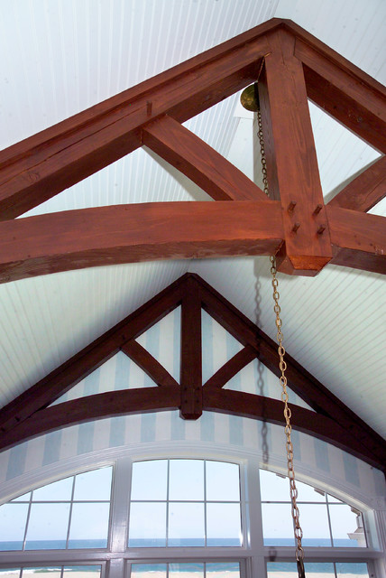 Cape May Roof Trusses traditional-family-room