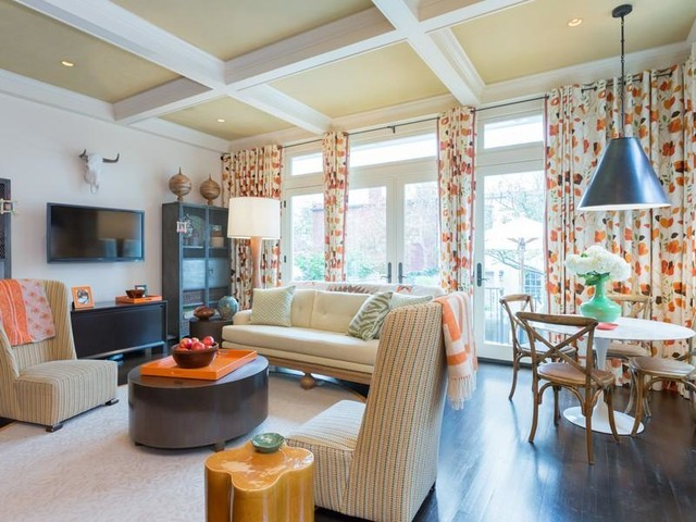 Capitol Hill Residence eclectic-family-room