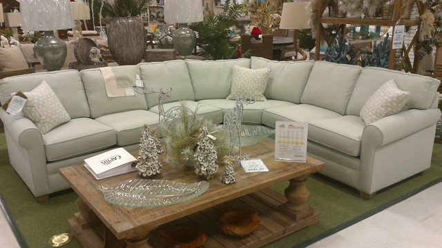 402 Sectional Sofa In Sunbrella Fabric