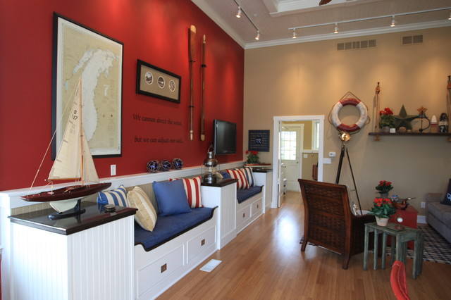 Boater's Paradise eclectic-family-room