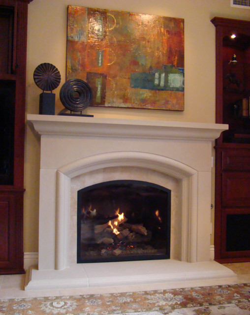 Del Mar Fireplace Remodel Traditional Family Room San Diego By Fireside Design Center