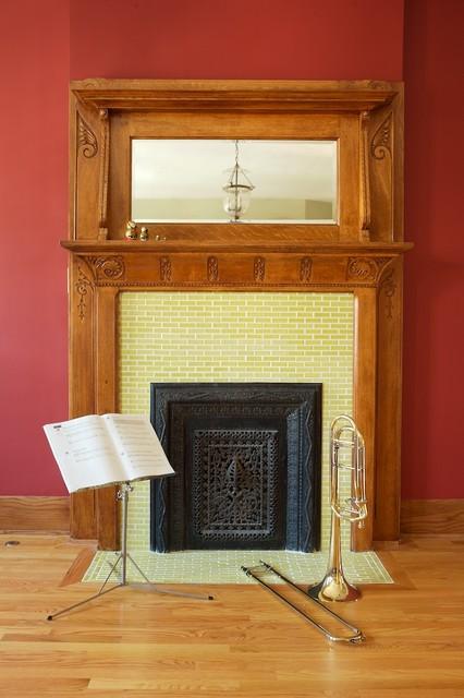 Caroline Beaupere Design eclectic-family-room