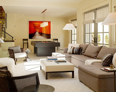 Carriage House contemporary-family-room