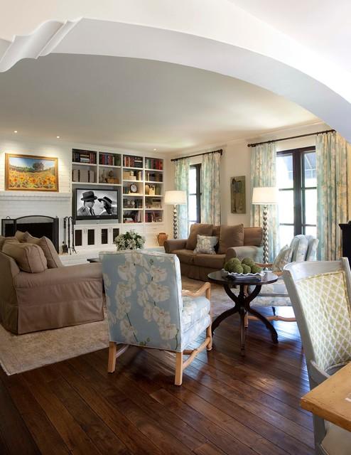 casablanca mediterranean-family-room