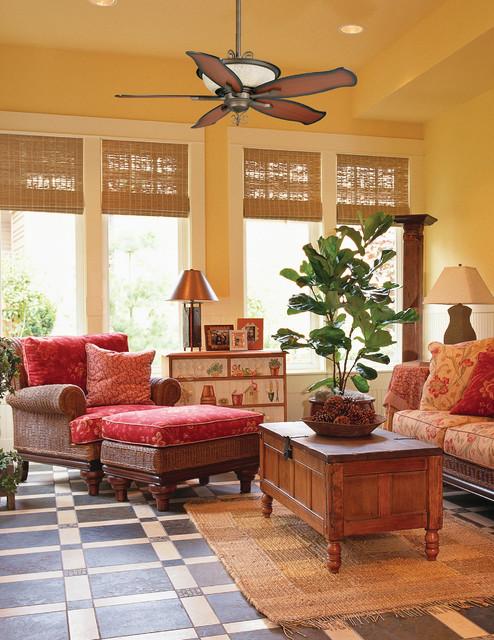 Casablanca Sien tropical-family-room