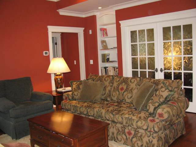 Casual spaces traditional-family-room