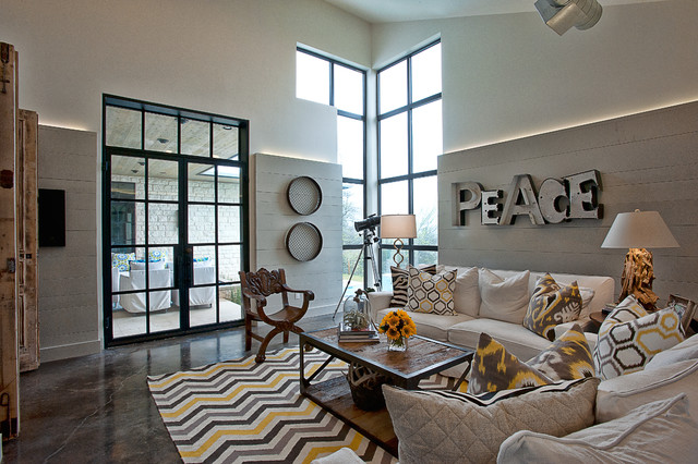 Cat Mountain Residence contemporary-family-room