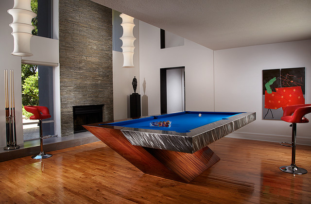 Catalina Pool Table Contemporary Family Room Tampa