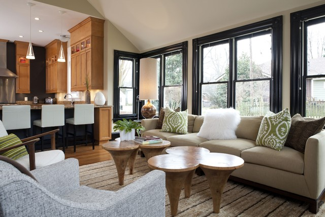 Catherine Boardman Contemporary Family Room