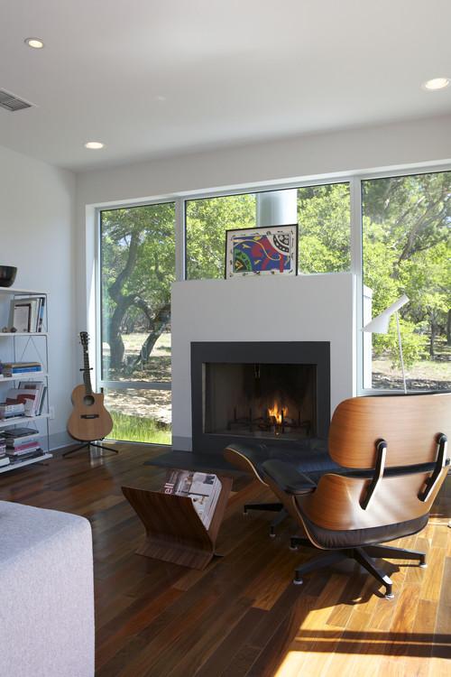 Caudill Lane modern family room