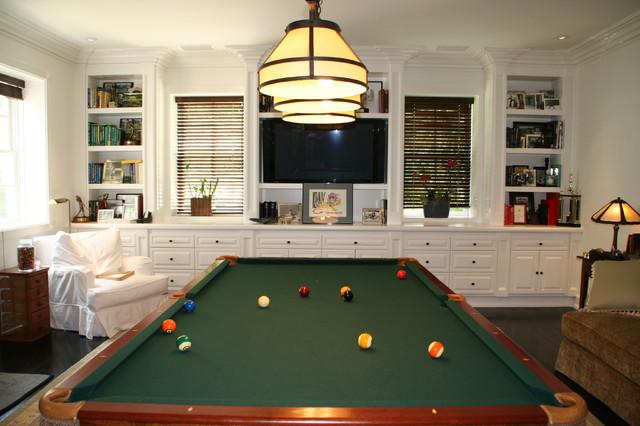 Celebrity Residence - Malibu traditional-family-room
