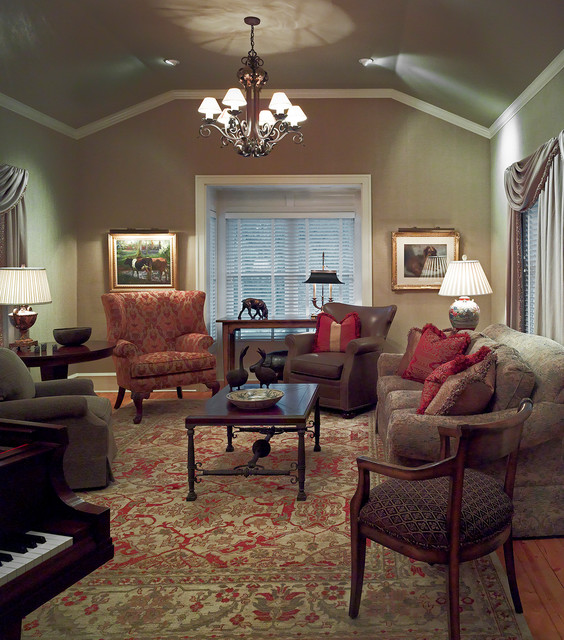 Century Old Farmhouse Traditional Family Room Minneapolis By Bruce Kading Interior Design