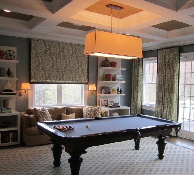 Chappaqua ny residence for Pool room design uk