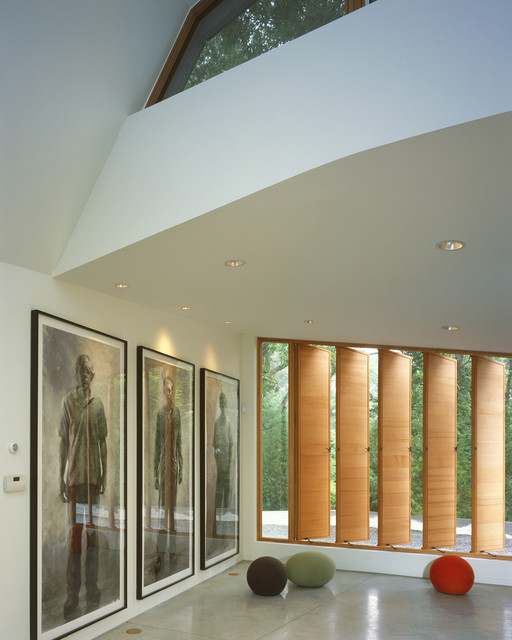 Charles Rose Architects Inc. contemporary-family-room