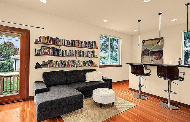 Charming West Seattle Bungalow contemporary-family-room