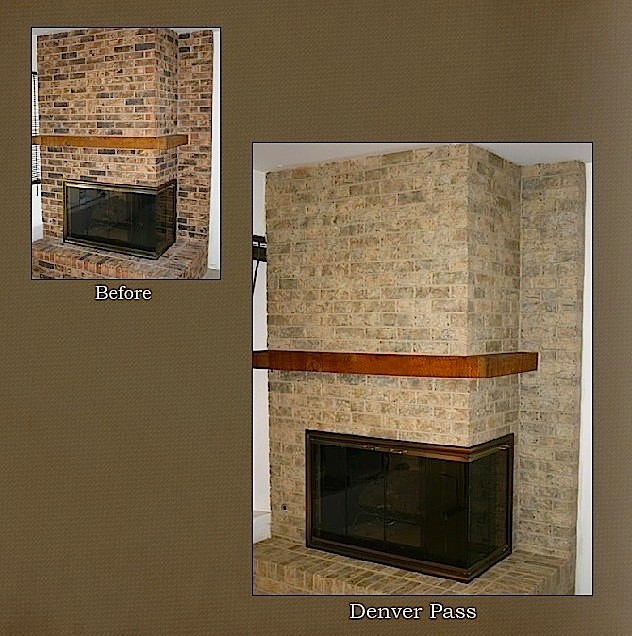 Chicago Fireplace Brick Refinishing Projectmodern Family Room