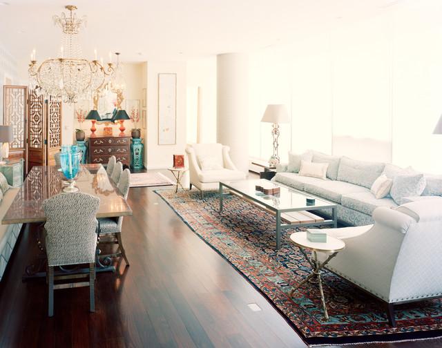 Chicago Oak Street contemporary-family-room