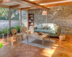 Christensen Remodeling midcentury-family-room