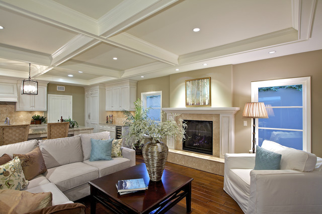 Christian Rice Architects, Inc. traditional-family-room