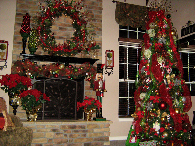 Christmas Family Room Traditional Family Room Dc Metro