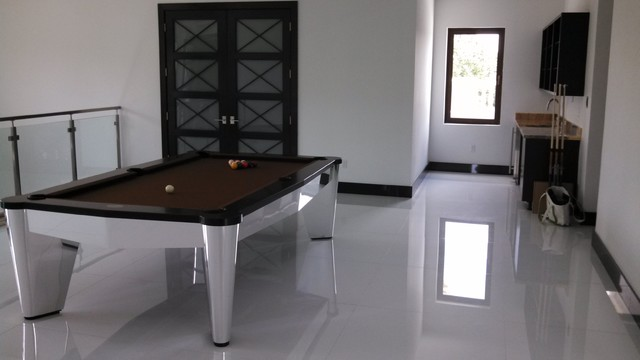 Chrome Pool Tables By MITCHELL Pool Tables Contemporary Family - Chrome pool table