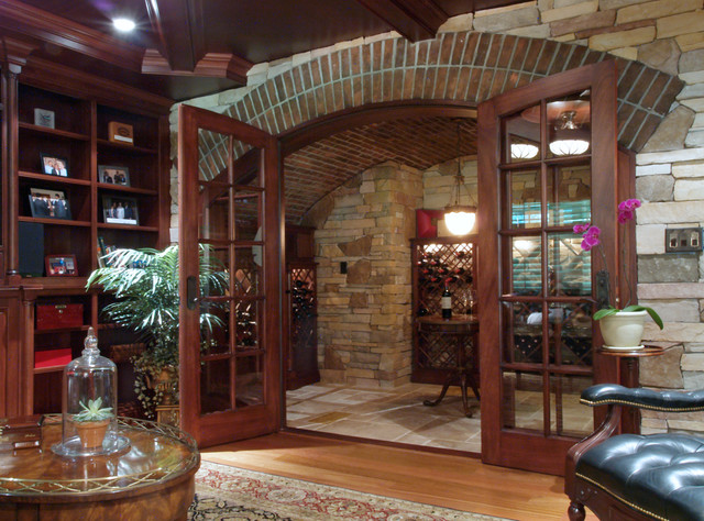 Cigar amp Wine Room Traditional Family Room  : traditional family room from www.houzz.com size 640 x 474 jpeg 134kB