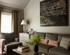 City Townhome contemporary-family-room