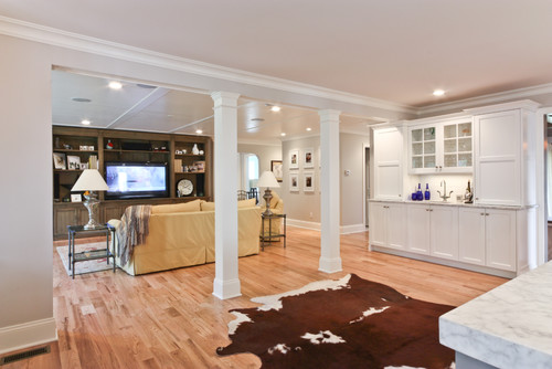 Classic Coastal Colonial Renovation - Great Room