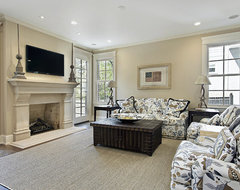 Classic elegance family-room