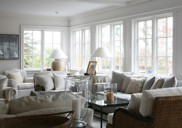 Classic Hyannisport Residence Family Room traditional-family-room