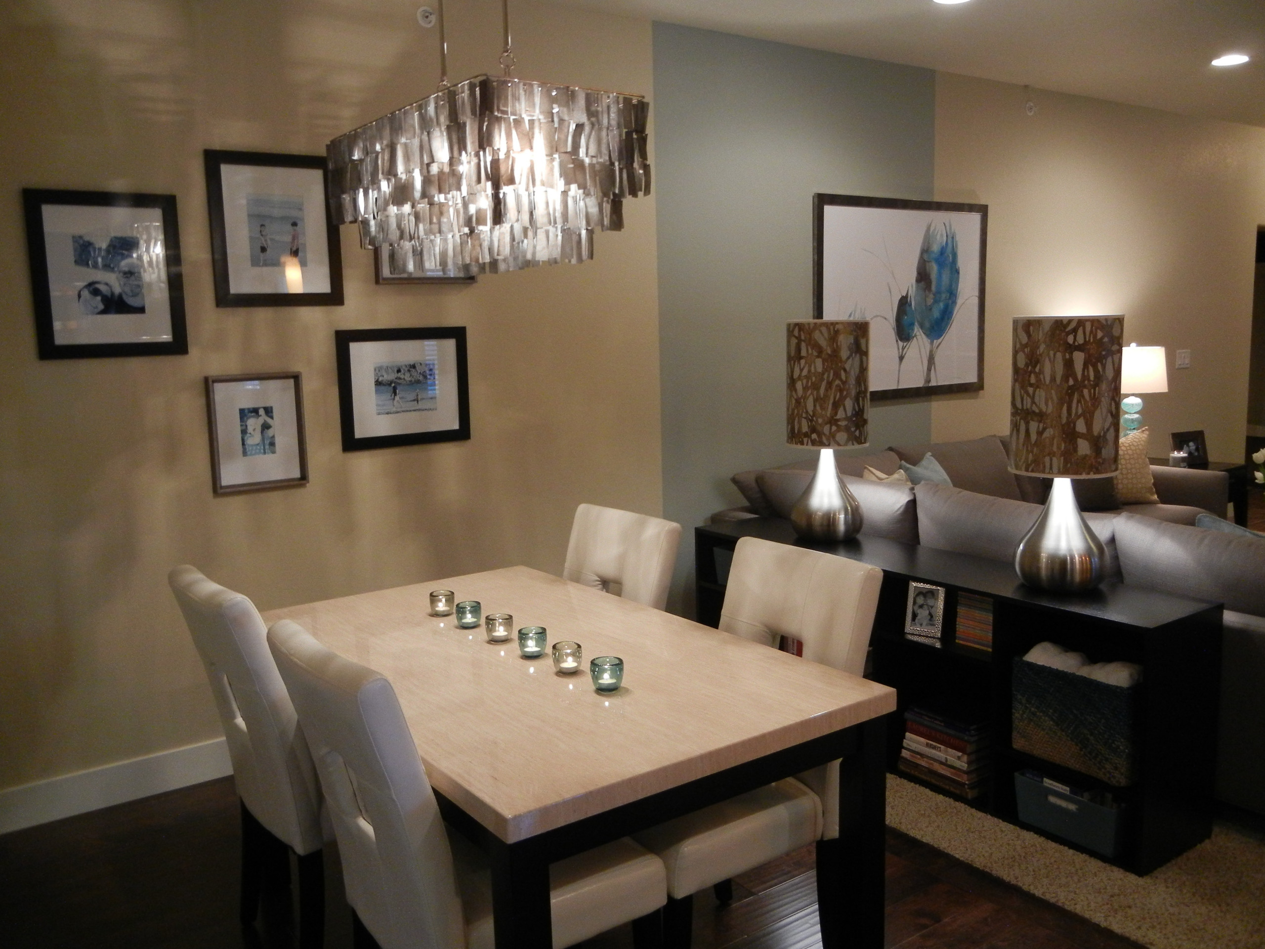 Classic Modern Condo - dining area