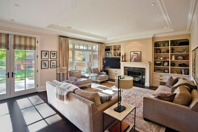 classic project traditional-family-room
