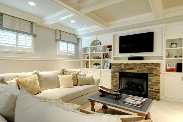 Window Treatment For Basement Windows - Rooms