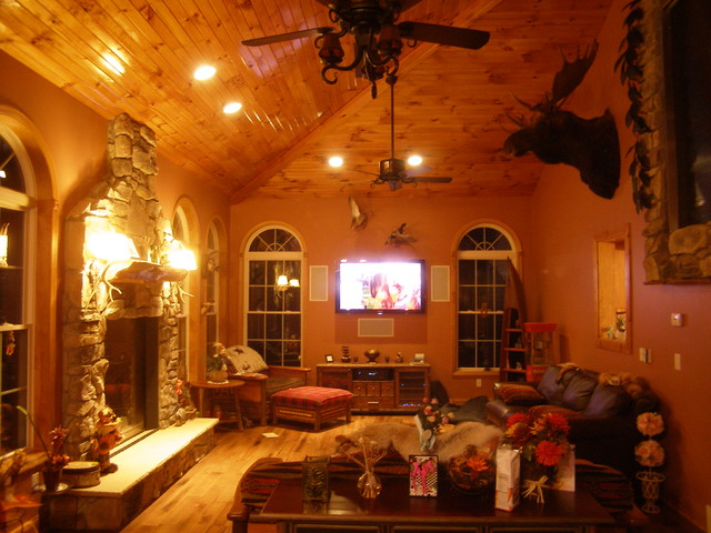 Clifton Park Additions traditional-family-room