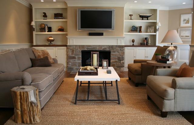 CMR Interiors & Design Consultations Inc traditional-family-room