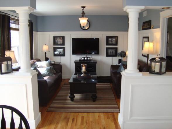 Coastal Family Room family-room