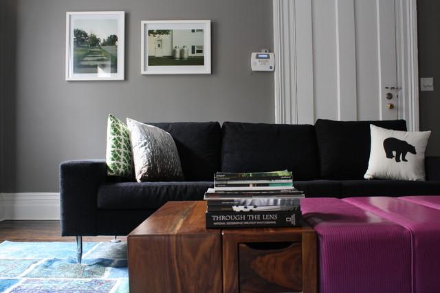 Cobble Hill - Modern - Family Room - New York - by Studio D ...
