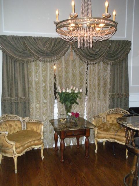 coffe bar traditional-family-room