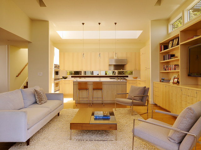 Cole Street Project contemporary-family-room