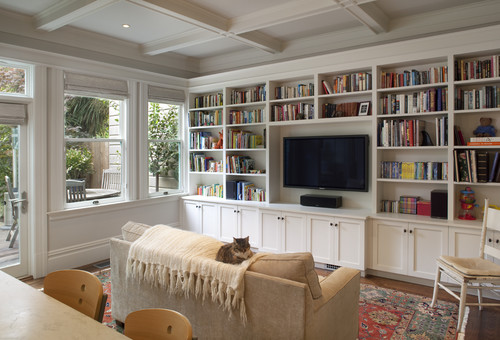 Cole Valley Residence - Family Room