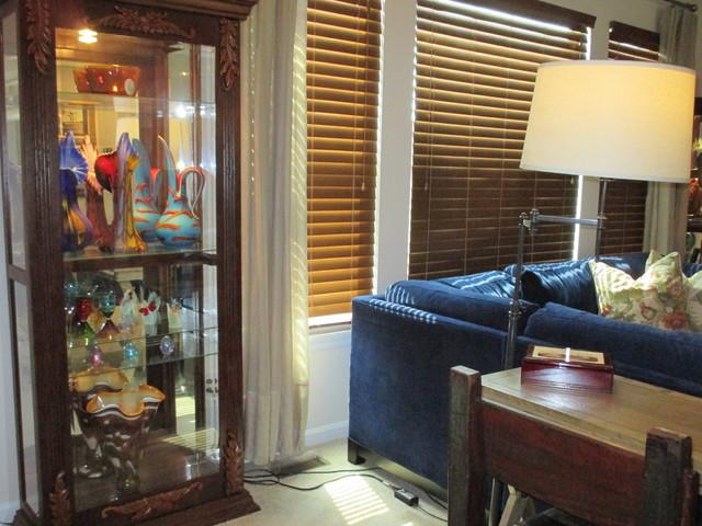 Color earthy living room modern family room other for Earthy living room designs