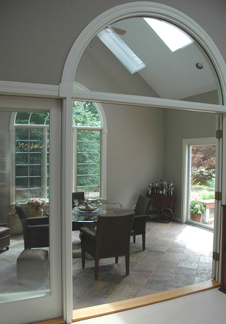Color consultation - kitchen and family rooms eclectic-family-room