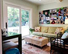 Colorful Cottage eclectic family room