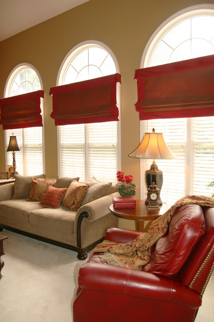 Colorful Family Room family-room