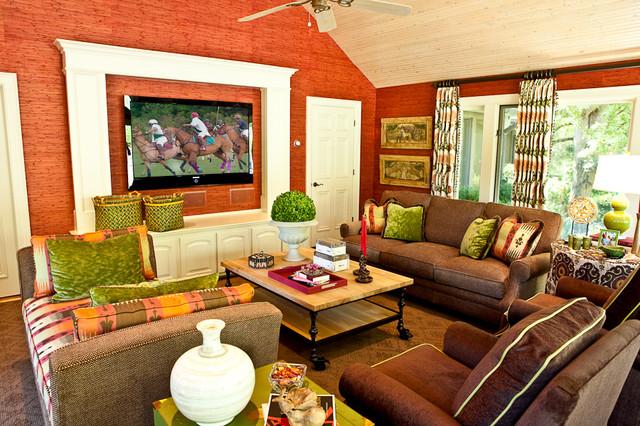 Columbia Pike Sunroom traditional-family-room