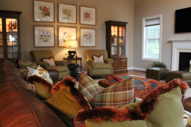 Comfy cozy family room for Cozy family room