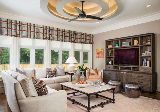 Contemporary Columbia Home Mediterran Wohnzimmer Sonstige Von Modern